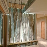 Birch Trees in Hallway