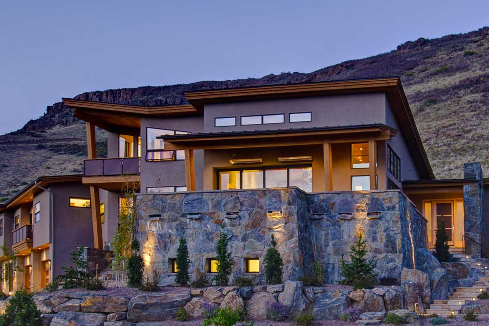 golden co custom home