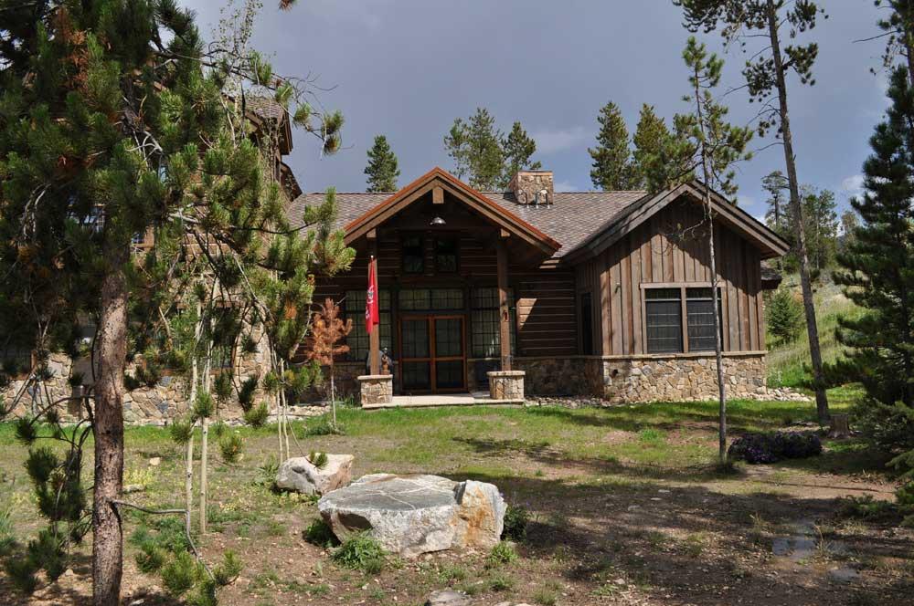 Mountain Cabin Custom Home Frisco Co