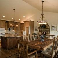 Silverthorne Mountain Home kitchen